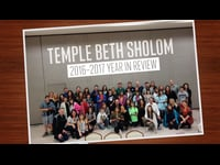 Temple Beth Sholom: Year in Review Photo Montage