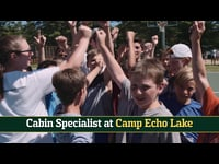 Camp Echo Lake: Cabin Specialist Recruiting Video