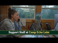 Camp Echo Lake, Support Staff Recruiting Video