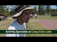 Camp Echo Lake, Activity Specialist Staff Recruiting Video